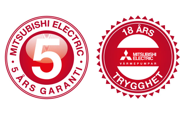Mitsubishi Electric 5+18 år