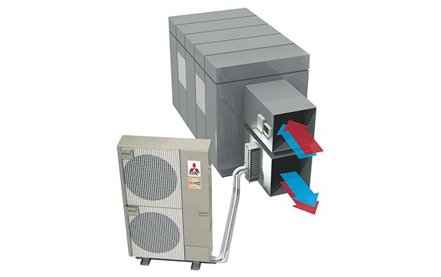 Mitsubishi Electric Ventilationsinterface PAC-IF013B-E