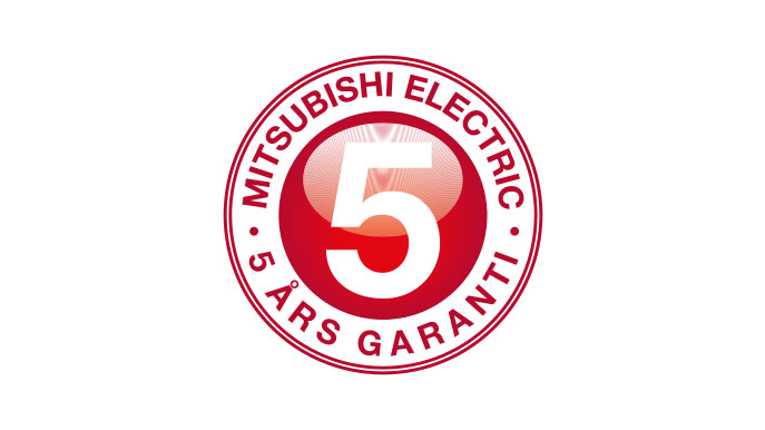 Mitsubishi Electric garanti
