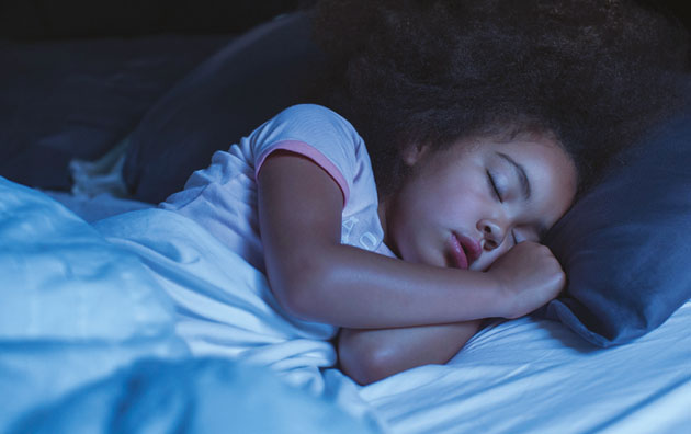 Mitsubishi Electric sovande-barn