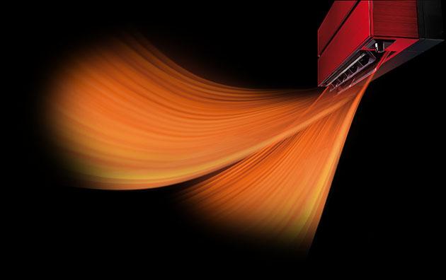 Mitsubishi Electric värmeblås