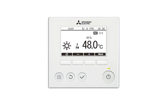 Mitsubishi Electric PAR-W31MAA-J Styr- och övervakningskontroll vatten produkter