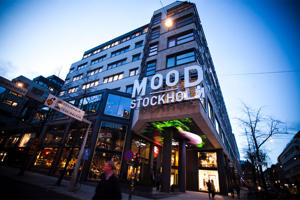 Mood Stockholm valde Mitsubishi Electric